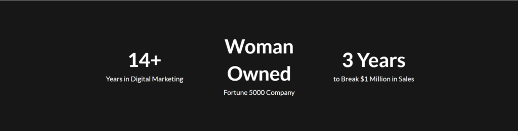 Woman Owned Fortune 5000 company