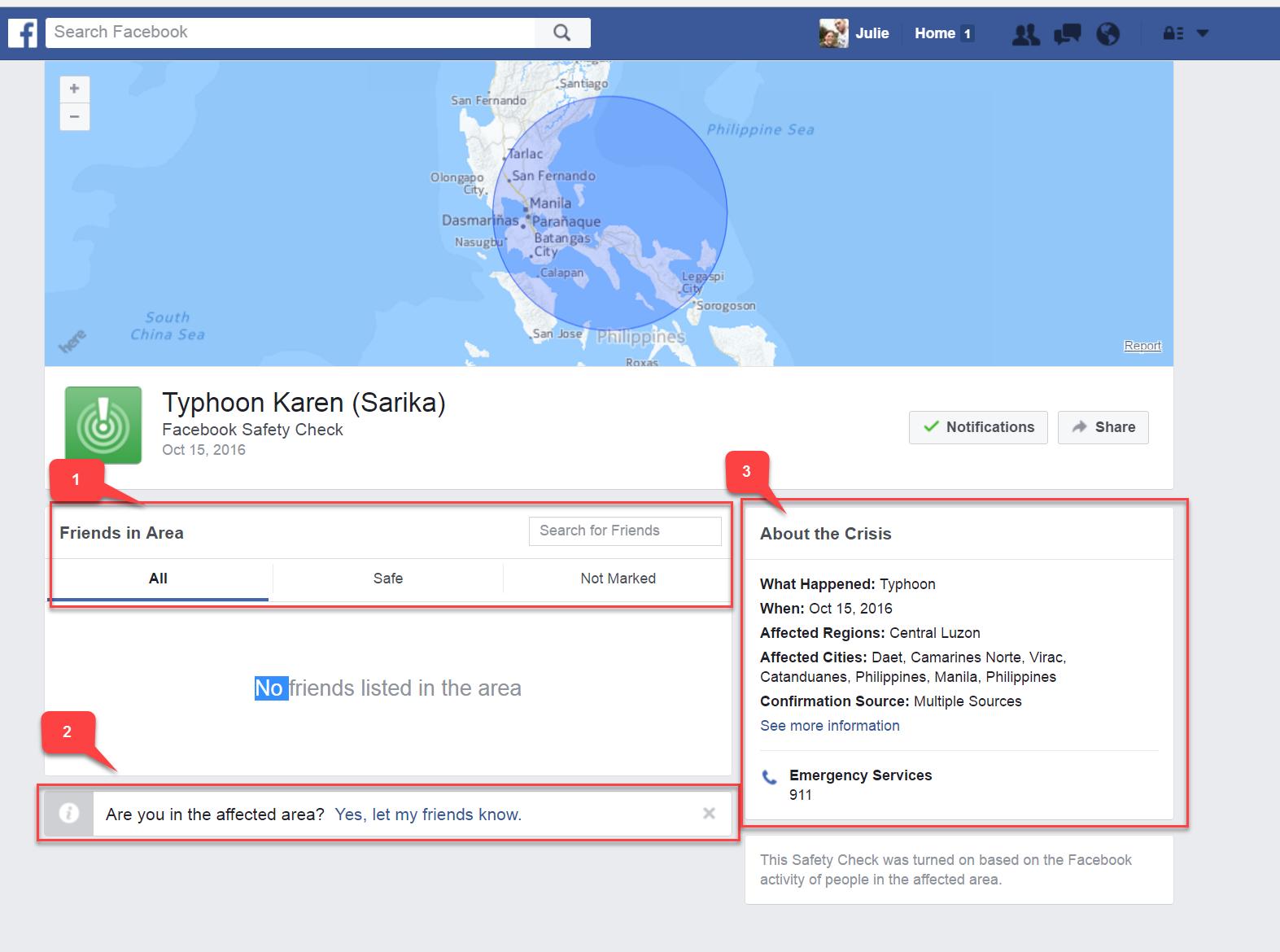 facebook crisis