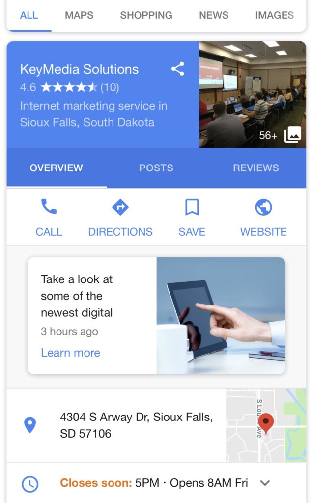 google post example