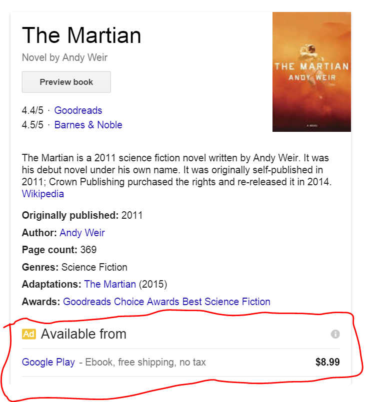 knowledge graph ad
